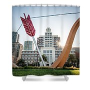Embarcadero Bow And Arrow Shower Curtain