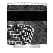 Embarcadero Chair Shower Curtain
