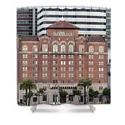 Embarcadero Ymca Building In San Francisco, California Shower Curtain