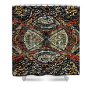 Embellished Texture Shower Curtain