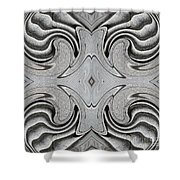 Embellishment In Concrete 6 Shower Curtain