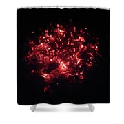 Embers Glow Shower Curtain
