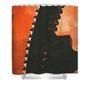 Ember's Revolution Shower Curtain