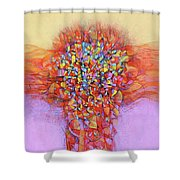 Embodiment Shower Curtain