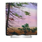 Embrace Of Dawn Shower Curtain
