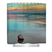 Embrace Of Watercolor Shower Curtain
