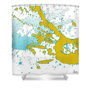 Embracing Passions Shower Curtain