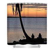 Embracing The Moment Shower Curtain