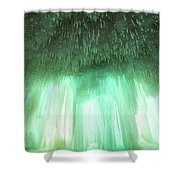 Emerald Cave - Grand Island On Lake Superior Shower Curtain