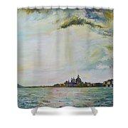 Emerald City Venice Shower Curtain