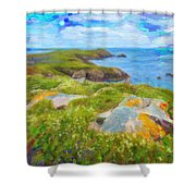 Emerald Coast Shower Curtain