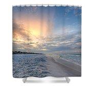 Emerald Gulf Shower Curtain