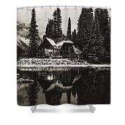 Emerald Lake, Canada Shower Curtain