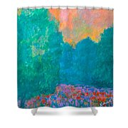 Emerald Mist Shower Curtain