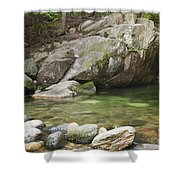 Emerald Pool - White Mountains New Hampshire Usa Shower Curtain
