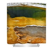 Emerald Pool 2 Shower Curtain