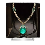 Emerald Prize Shower Curtain