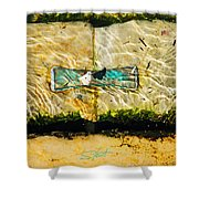 Emerald Tide Shower Curtain