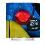 Emergency Stop Shower Curtain