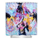 Emergent Shower Curtain