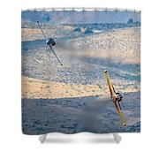 Emerging From The Valley Of Speed 16 X 9 Aspect Signature Edition Shower Curtain