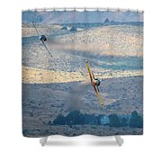 Emerging From The Valley Of Speed 5 X 7 Aspect Shower Curtain