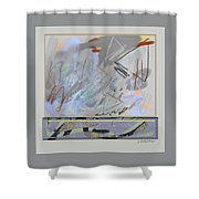 Emerging Memories Shower Curtain