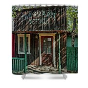 Emigrant Office Shower Curtain