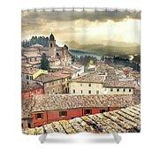 Emilia Romagna Italy Shower Curtain
