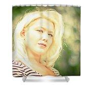 Emily #1 Royal Holden Shower Curtain