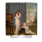 Emily And George Mason Shower Curtain