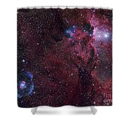 Emission Nebula Ngc 6188 Star Formation Shower Curtain