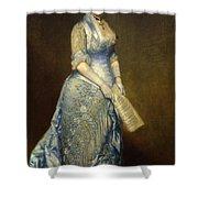 Emma Cecilia Thursby Shower Curtain