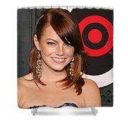 Emma Stone Shower Curtain