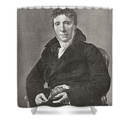 Emmanuel Joseph Siey Shower Curtain