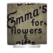 Emma's Shower Curtain