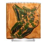 Emmet - Tile Shower Curtain