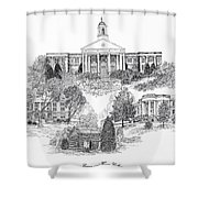 Emory And Henry College Shower Curtain
