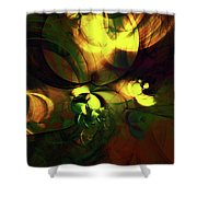 Emotion In Light Abstract Shower Curtain