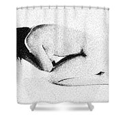 Emotional Beauty Shower Curtain