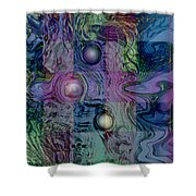 Emotions Block Shower Curtain