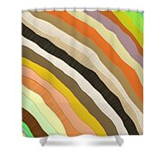 Emotive Pattern Shower Curtain