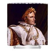 Emperor Napoleon Bonaparte  Shower Curtain