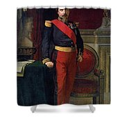 Emperor Of France Shower Curtain