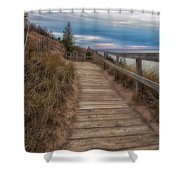 Empire Bluffs 3 Shower Curtain