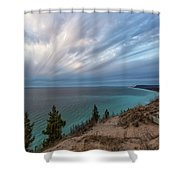 Empire Bluffs 5 Shower Curtain