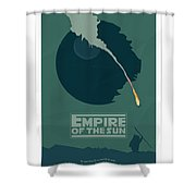 Empire Of The Sun Shower Curtain