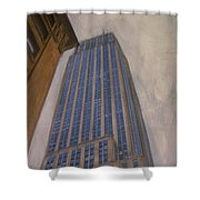 Empire State Building 2 Shower Curtain