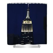Empire State Building New York City Shower Curtain