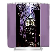 Empire State From Madison Park 1 Shower Curtain